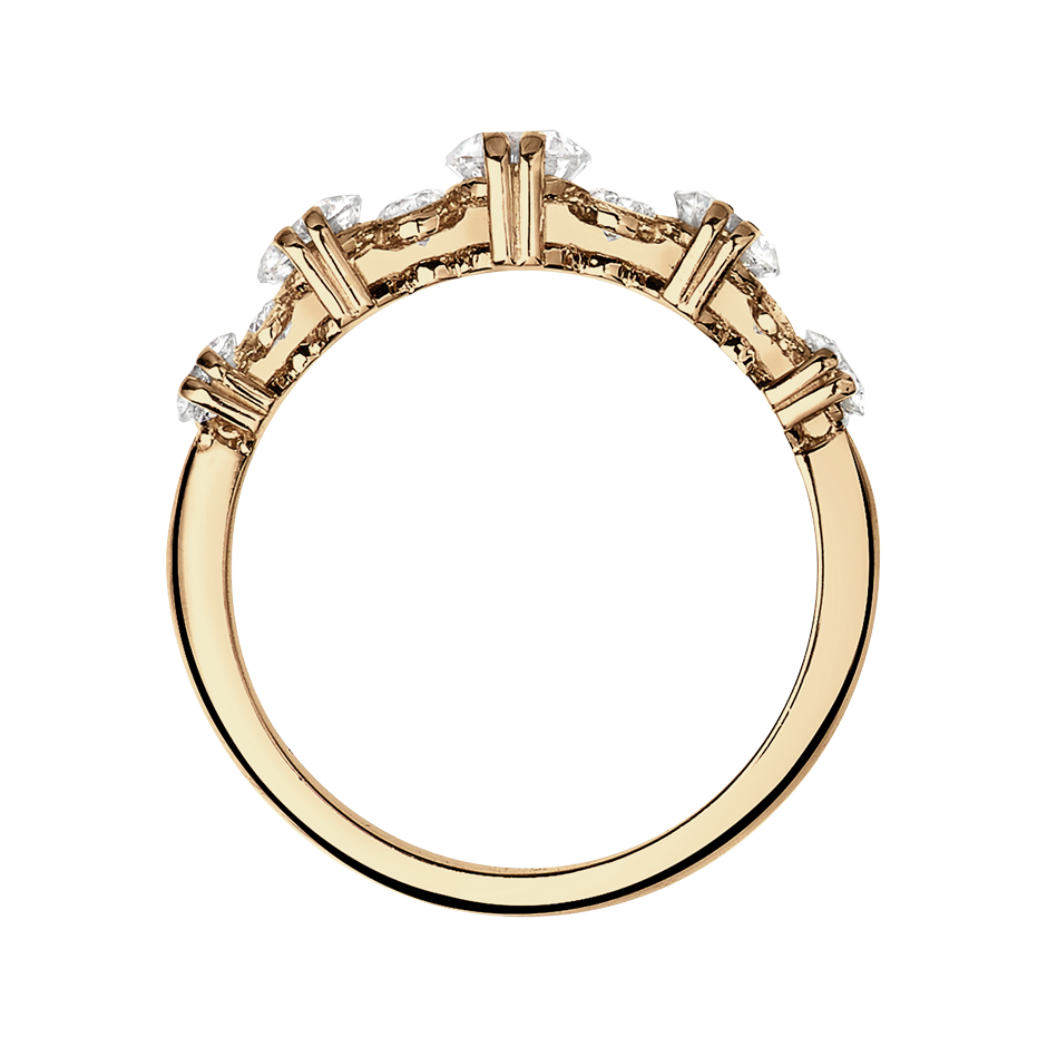 Eternity Ring Stavanger in Rose Gold