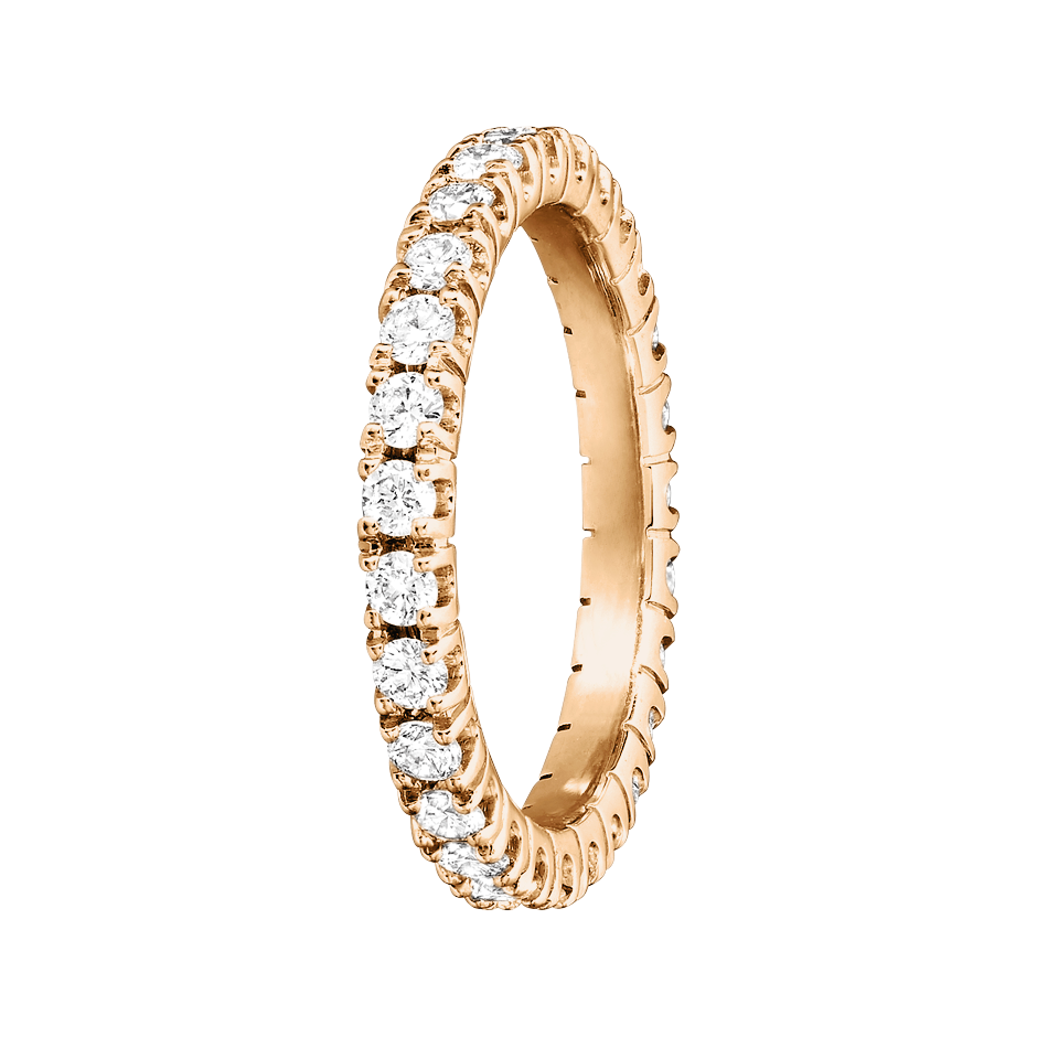 Eternity Ring Stockholm H SI in Rose Gold