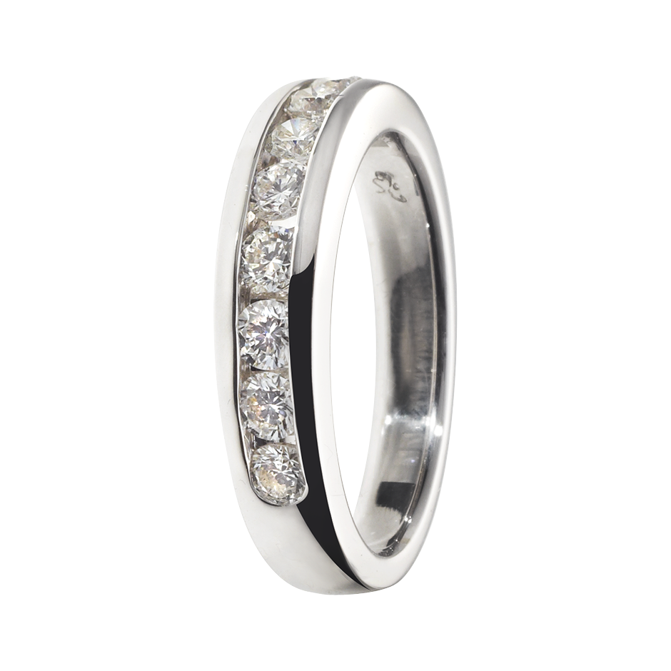 Eternity Ring Tallinn G VS in White Gold
