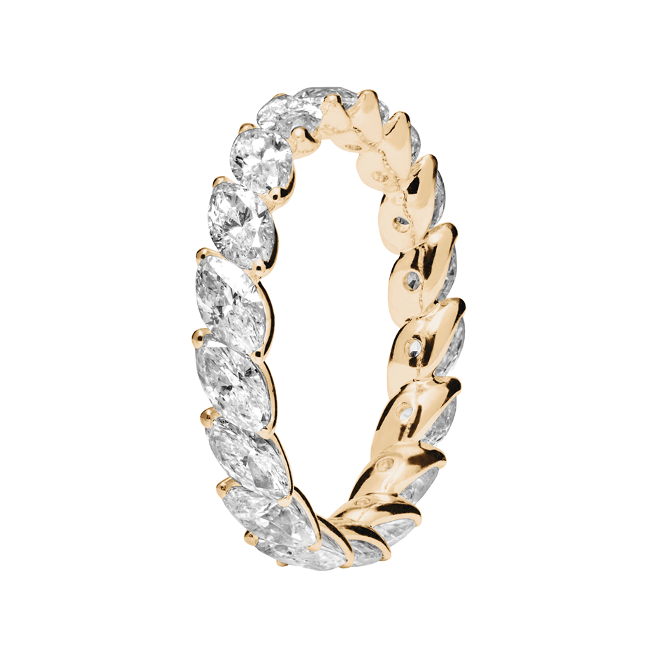 Eternity Ring Venice in Rose Gold