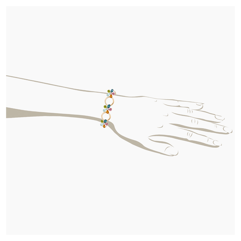 Flowers Bracelet Small in Rose Gold