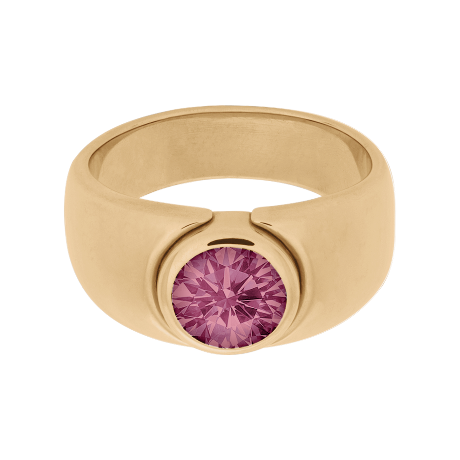 Mantua Turmalin rosa in Roségold