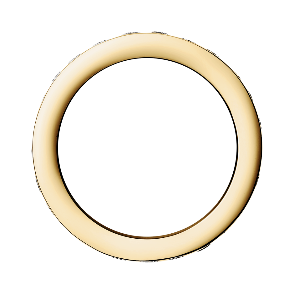 Memoire Ring Amsterdam G VS in Gelbgold