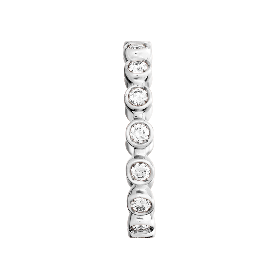 Memoire Ring Faro H SI in Platin