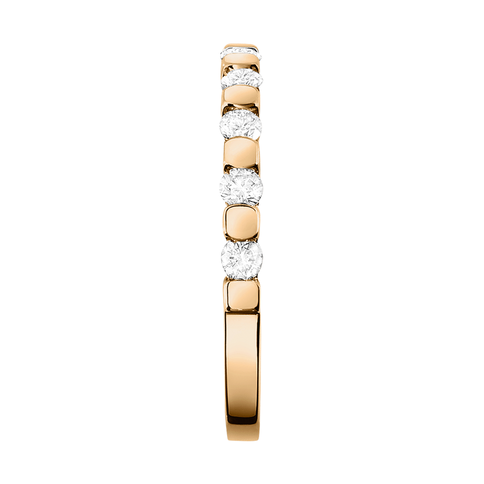 Memoire Ring Knokke G VS in Roségold