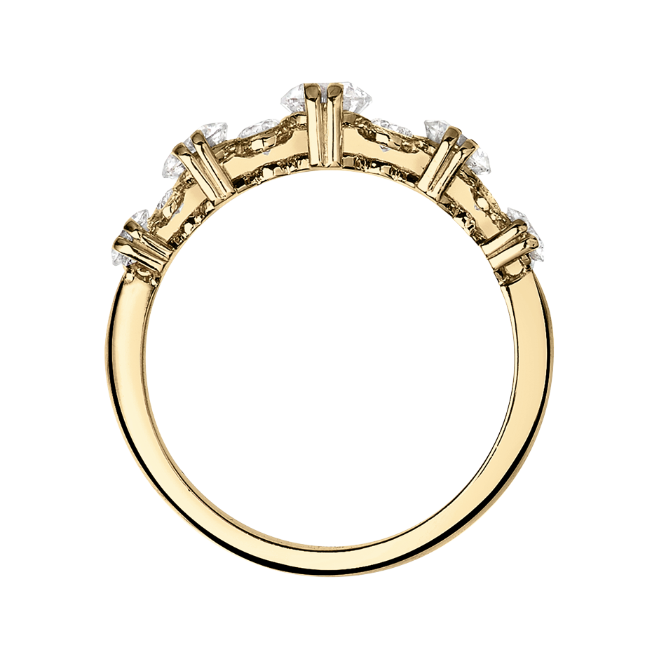 Memoire Ring Stavanger in Gelbgold