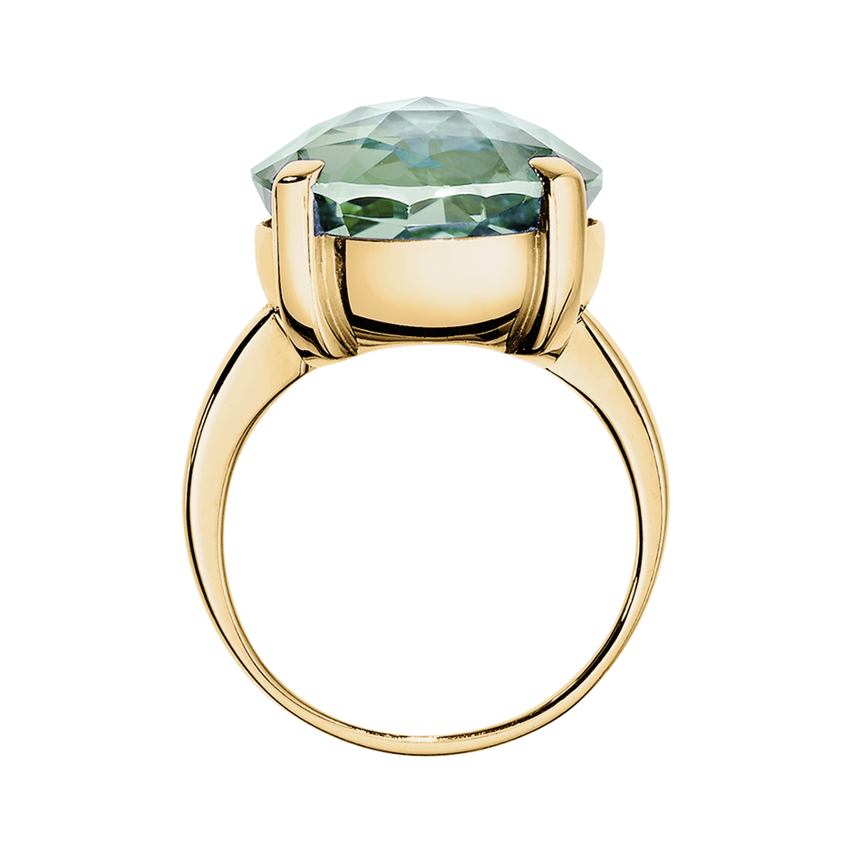 Rocks Cocktail Ring in Yellow Gold